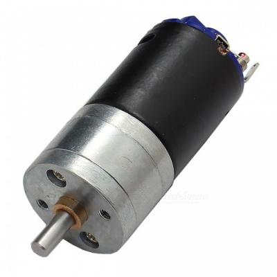 GM25 12V 980rpm 370 strong Magnetic Torque DC Motor - Black