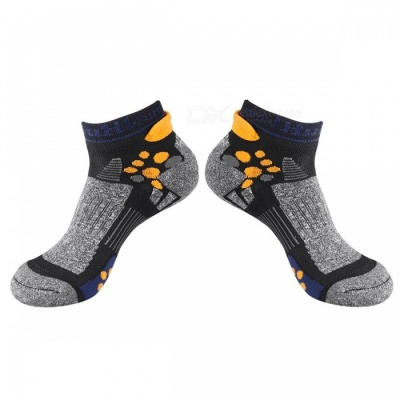 CAXA Unisex Breathable Quick Dry Socks for Sports - Grey