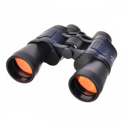 10X 50mm Outdoor Travel Climbing BAK4 Binocular - Black