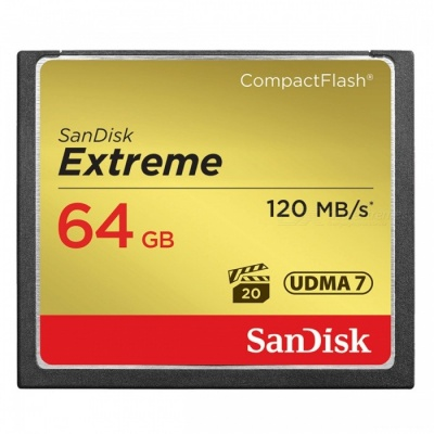 SanDisk SDCFXSB-064G-G46 Extreme 64GB Compact Flash Memory Card