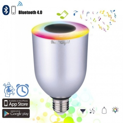 YouOKLight E26E27 7W APP Remote Control Bluetooth RGB Music Light Bulb