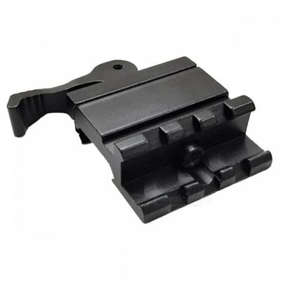 ACCU Rail 45 Degree Picatinny Mount with Quick Release for Scopes