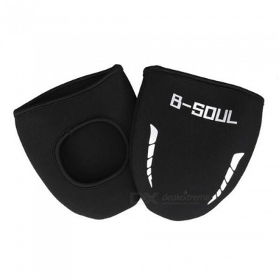 B-SOUL Dustproof Cold Warm Bicycle Riding Shoes Cover - Black (1 Pair)