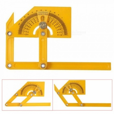 Kitbon Plastic Protractor and Angle Finder with Articulating Arms