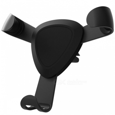 Multifunction Mobile Phone Stand Car Stand Bracket - Black