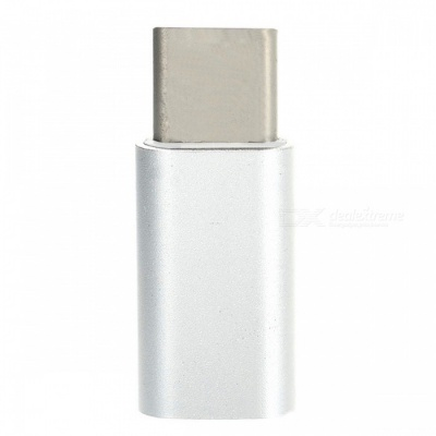 Mini Smile USB 3.1 Type-C to Micro USB Data Sync Charging Adapter
