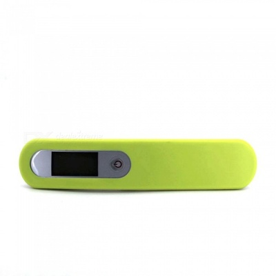110 Pounds 50kg Portable Luggage Electronic Scale with Hook - Green