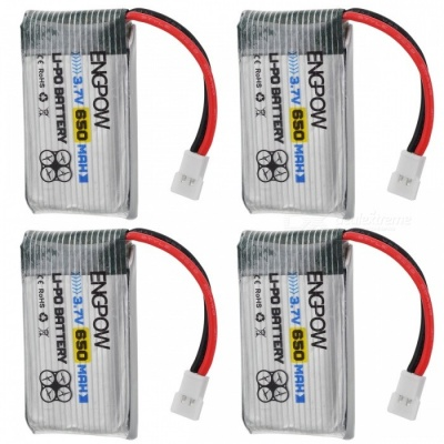 ENGPOW 3.7V 650mAh Lipo Battery with Charger Kit