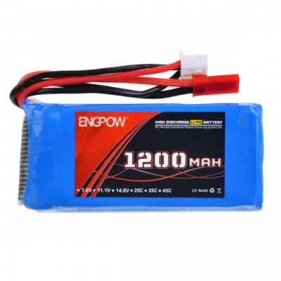 ENGPOW 7.4V 1200mAh 30C Lipo Battery
