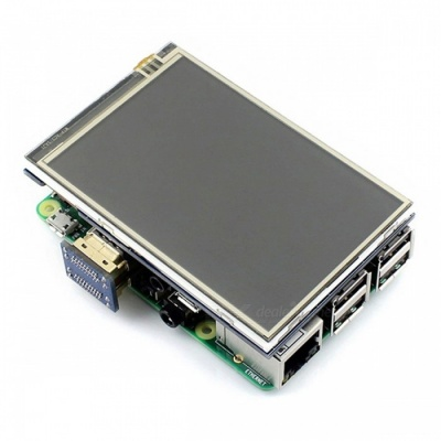 """Waveshare 3.5"""" Resistive IPS Touch Screen LCD with HDMI Interface"""