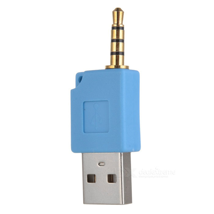 Mini USB Data and Charging Adapter for Shuffle-2 (Blue)