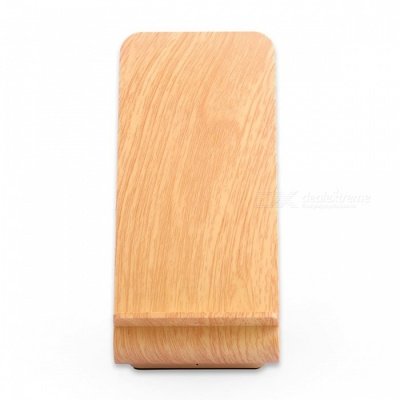 Itian A8 10W Fast Wireless Charger Stand - Wood