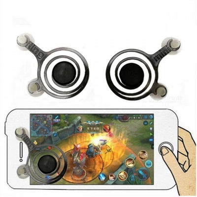 Kitbon Mobile Game Joystick Game Controller for Phone, Pad (1 Pair)