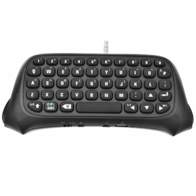 TP4-008 Bluetooth Wireless Keyboard for PS4, PS4 Slim, PS4 PRO - Black