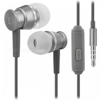 Stereo 3.5mm Wired Earphone for N-Switch, X-ONE S, PS Series - Grey