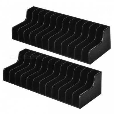 TNS-857 Game Card Storage Box, Disc Holder Stand for N-Switch - Black