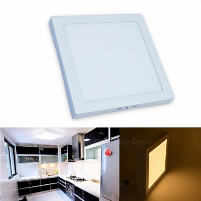 JIAWENL 24W Warm White Surface Mounted LED Panel Light Ceiling Light