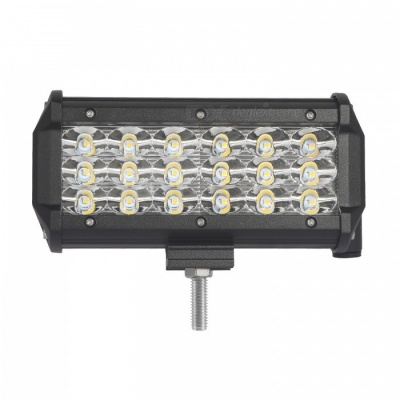 "MZ 6.5"" Tri-Row 54W 5400LM Bar Spot LED Work Light for Offroad SUV"