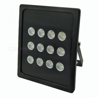 12-LED Large Power Dot Matrix White Fill Light for Surveillance Camera