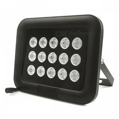 15-LED Large Power Dot Matrix White Fill Light for Surveillance Camera