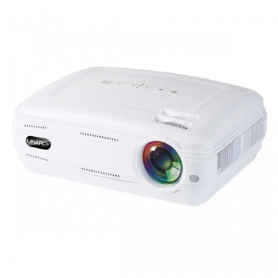 UHAPPY U58 PRO Android 6.0 LCD Projector with Bluetooth Wi-Fi - White