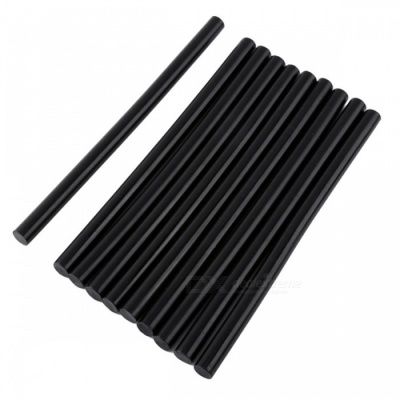 DIY Strong Adhesive Hot Melt Glue Sticks - Black (11 x 190mm, 10pcs)