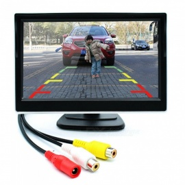5 Inches Car Visor Monitor with Removable Stand, 2-Way AV Input
