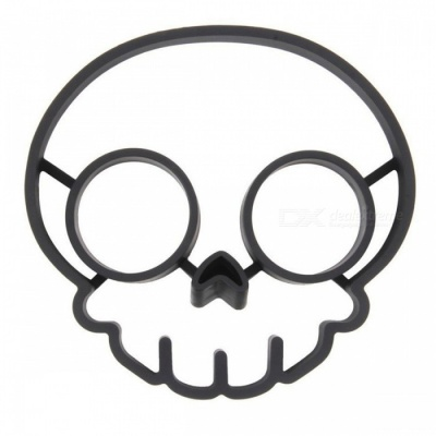 Non-stick Silicone Rubber Skull Egg Fried Frying Mould Mold Ring