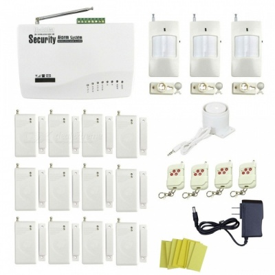 IN-Color Global Universal Wireless GSM Home Security Alarm System