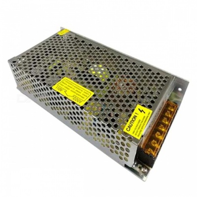 ZHAOYAO DC 12V 12.5A 150W Switching Power Supply - Silver