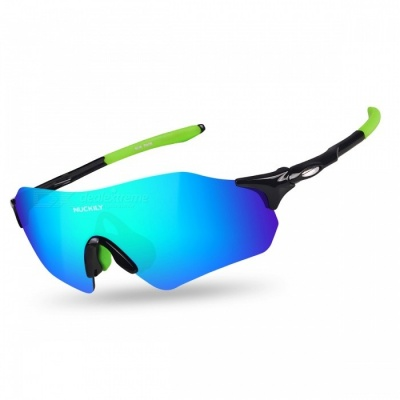 NUCKILY PA08 Outdoor Riding Anti-wind Sand-Proof Glasses -Black, Green