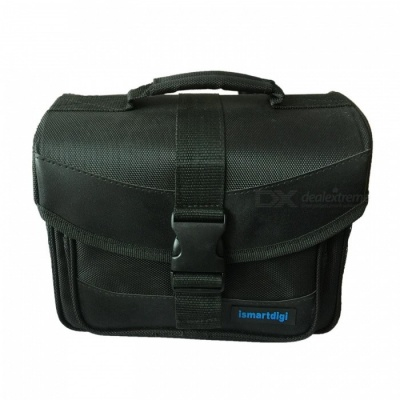 Ismartdigi i-110 L Universal Camera Bag for All DSLR DV Camera - Black