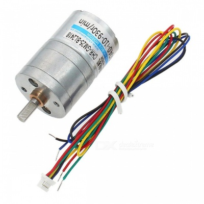 CHRGM25BL2418 DC Brushless Motor with Built-In Drive, 24V 12V