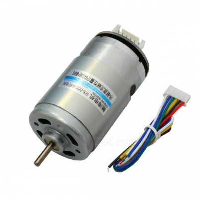 CHR-RS555 AB Dual Phase Incremental Encoder DC Motor 12V 7800rpm