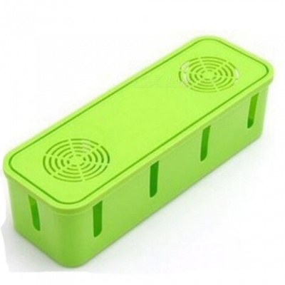 i-mu Storage Box for Storing Power Supply Cable and Socket - Green