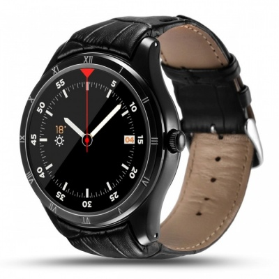 """Q5 1.39"""" Android 5.1 Bluetooth Smart Watch with 512MB, 8GB - Black"""