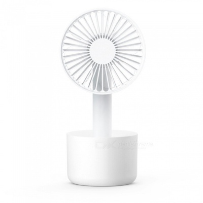 Portable Mini USB Charging Strong Wind Fan - White