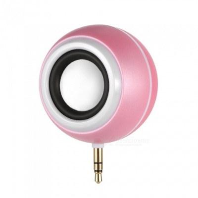 2-in-1 Plug Type Speaker, Fill Light for Self-Timer - Pink