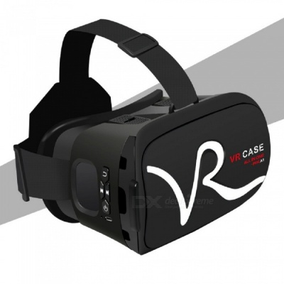 "RK-A1 VR 3D Glasses for 4""~5.8"" Mobile Phones - Silver"