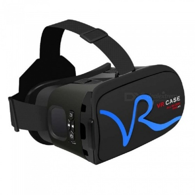 "RK-A1 VR 3D Glasses for 4""~5.8"" Mobile Phones - Blue"