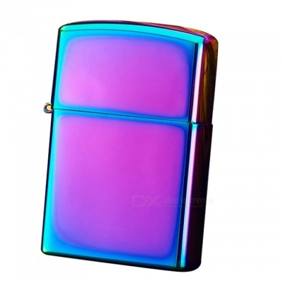 ZHAOYAO Windproof Double Pulsed Arc Slim USB Lighter - Colorful