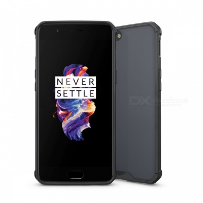 Shock-proof Protection Back Case for Oneplus 5 - Black