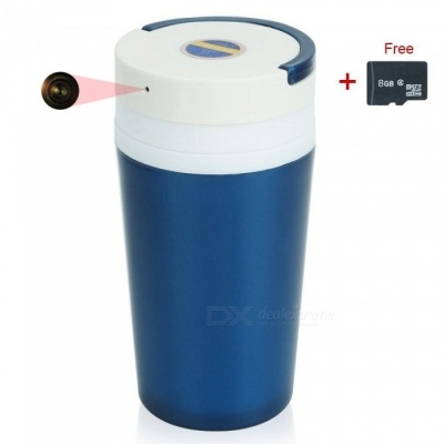 1280 x 960 HD Water Cup Portable Security Camera DVR with 8GB Memory