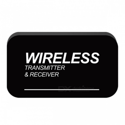 Bluetooth Transmitter Receiver 2-in-1 Wireless Adapter - Black