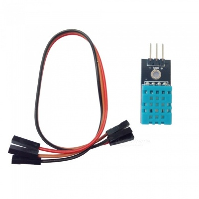 3.3V-5V Temperature Humidity Sensor Module with DuPont Cable