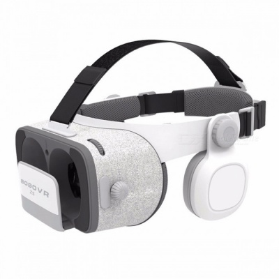 Xiaozhai Z5 VR 3D Glasses - Gray, White