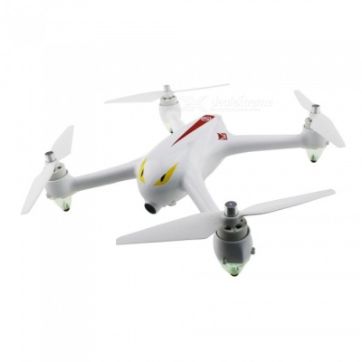 MJXR/C Bugs 2 B2C Brushless RC Quadcopter with GPS, Camera - White