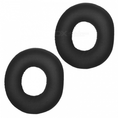 Soft Sponge Headphone Sleeves - Black (1 Pair)