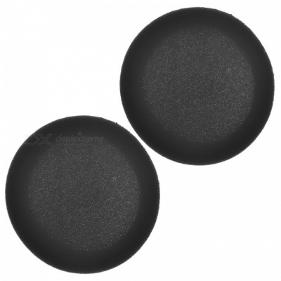 Soft Sponge Earphone Sleeve - Black (1 Pair)