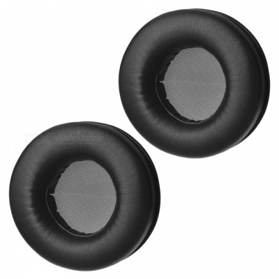 Premium Soft Sponge Headphone Sleeves - Black